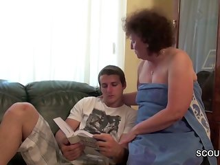Grandma Seduce Young Boy To Lost Virgin..