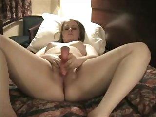 Nympho Fat Chubby Teen cumming at her..