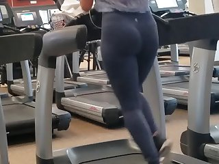 Candid Booty Arabic Gym Babe Pt. 2