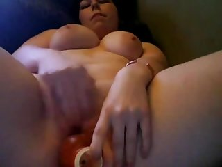 Hottie Horny Teen Chubby BBW Cumming on..