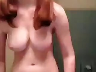 Teen Brunette with Great Tits shows also..