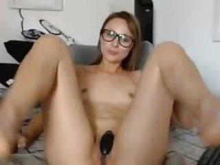 Barefoot Webcam Nerdy Teen Orgasm