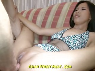 Bobbing Anal Asian Slapper In Blue..