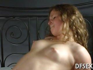 Tight pussy is fucked hard