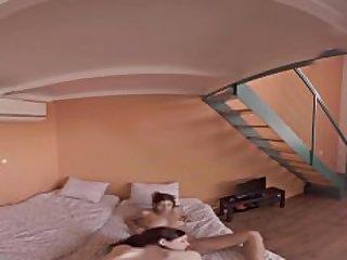 VR Porn Hot Roommates fucked