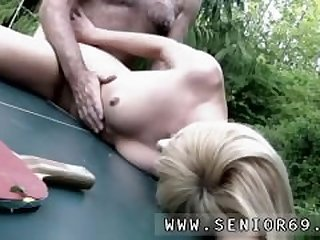 Hot mom and step friend and shy blonde..