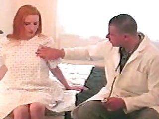 Redhead Teen Does Gyno Doctor
