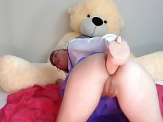 Ok Daddy I will fuck my ass for you